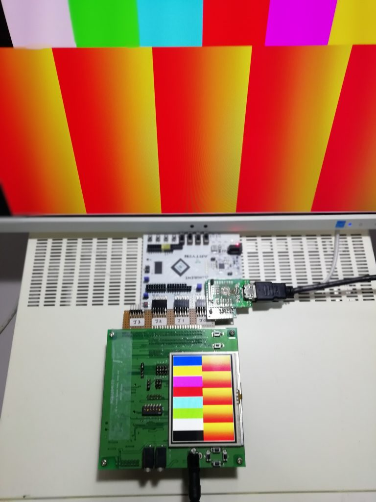 FPGA基板によるHDMI出力